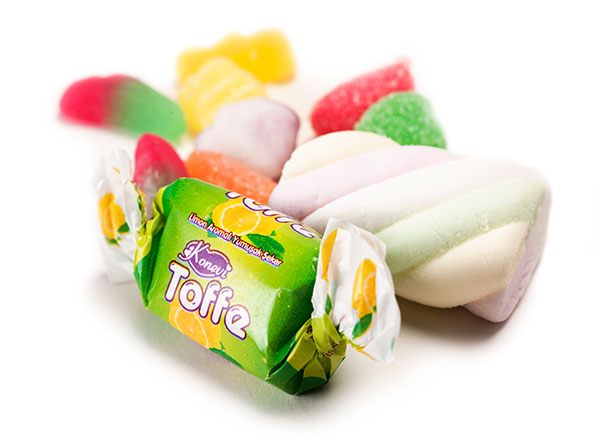selection of loose sweets