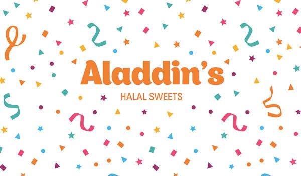 Aladdin's Sweets New Branding